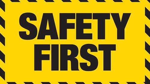 Safety 1st !